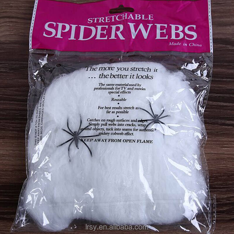 Halloween Stretchable Geest Spinnenweb