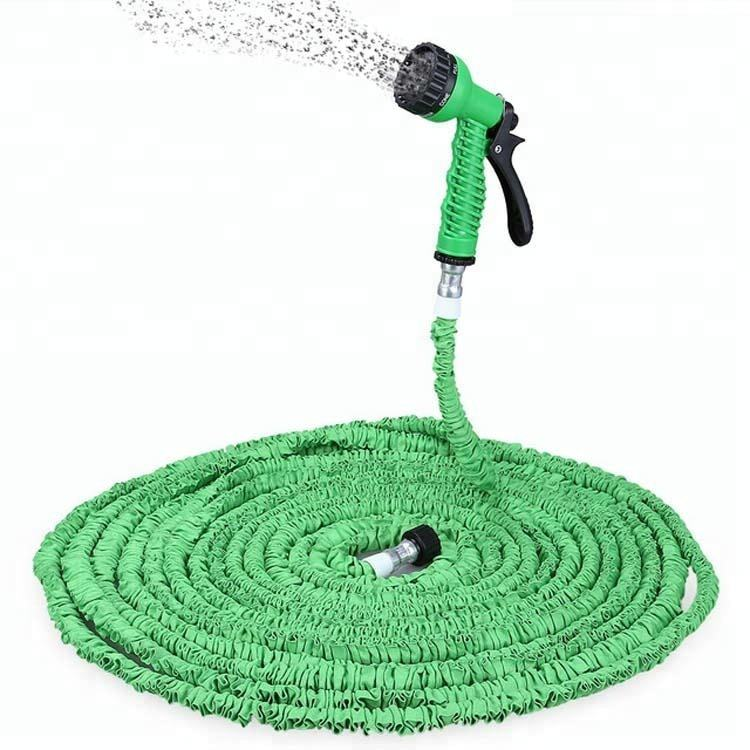 25FT-200FT Expandable Garden Hose Pipe with 7 in 1 Spray Gun