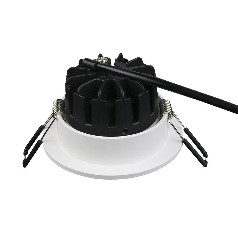 Norway market white matt 10W COB LED Adjustable downlights cutout 83mm with CE ROHS