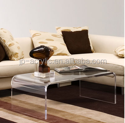 new morden acrylic coffee table of simple style