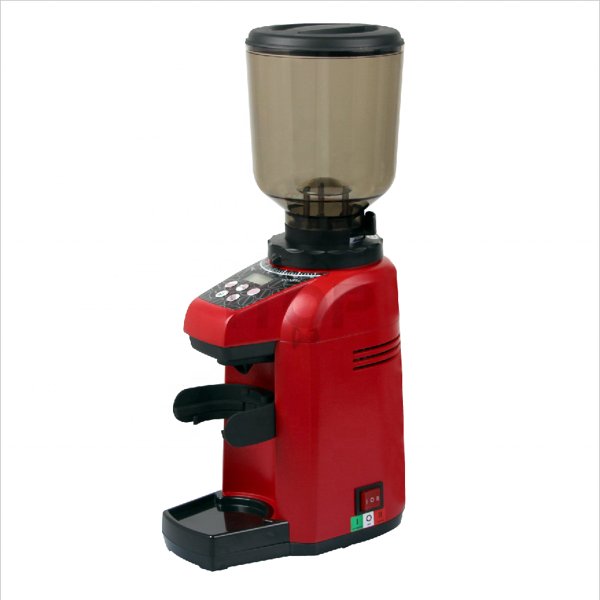 Commercial professional coffee grinder with Italian flat wheel burr household coffee bean grinder