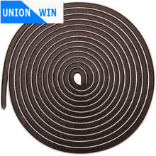 9*5mm 5m brown color 3M Self adhesive wool pile weather strip window brush Pile  Weather strip  mohair strip br