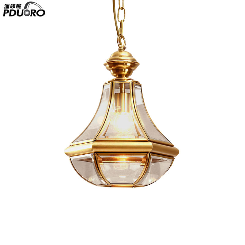 Postmodern Big Chandeliers Pendent Lamp Glass Ball Chandelier Pendant Light Gold Metal Home Decoration Pendent Lights