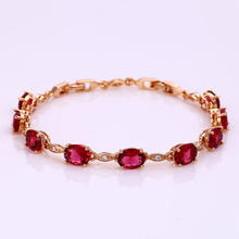 72446 High quality fashion 18k gold color color bead bracelet