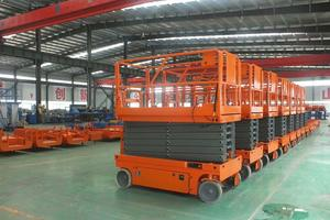 12m Factory Sale Hot Selling Self Propelled Electric Scissor Lift For Sale