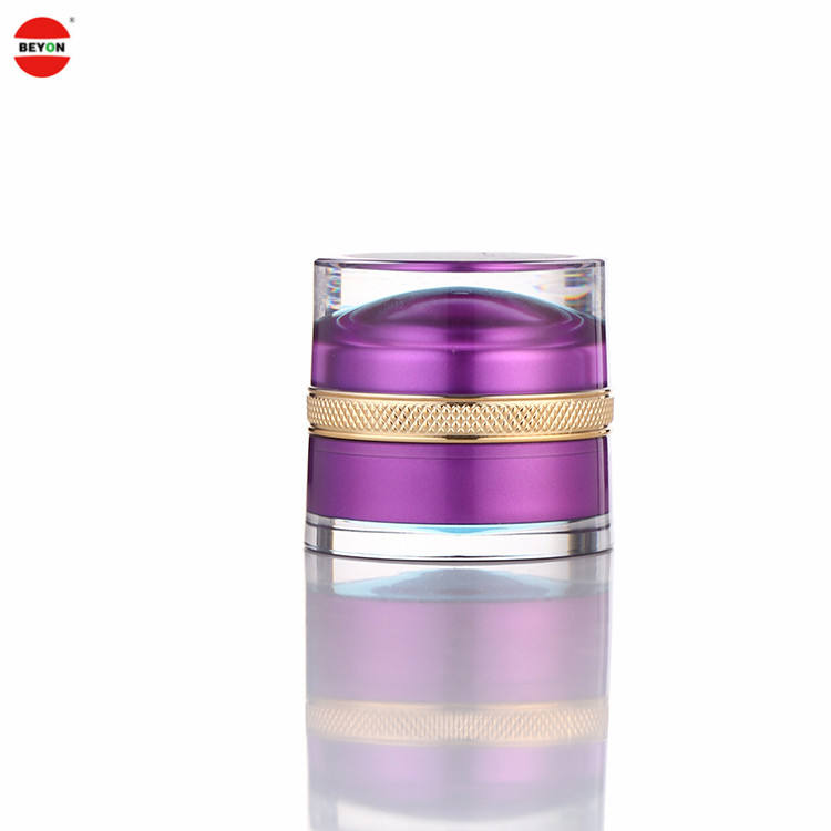 High Quality Packaging Skin Care 30Ml Round Pet Empty Cosmetic Face Cream Jar
