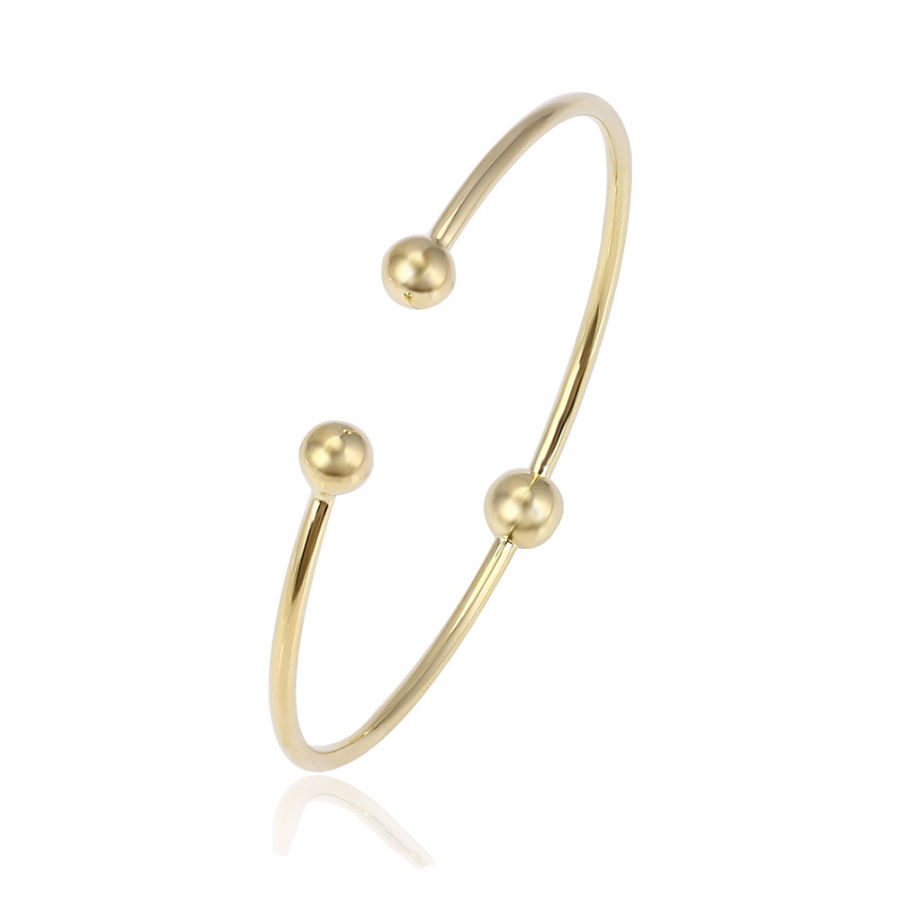 51794 xuping fashion pearls for jewelry making gold plated cheap bangle, wholesale bangles, latest design girls gold bangles