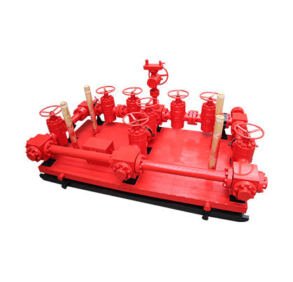 API spec 16C hydraulic choke manifold for oilfield equipment
