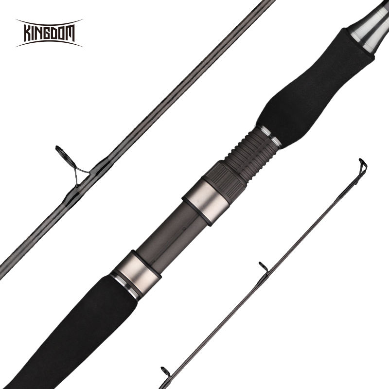 KÖNIGREICH Modell 10058-10060 M Power 3 Stück Jigging Angelrute Pole Tackles Spinning Angelrute