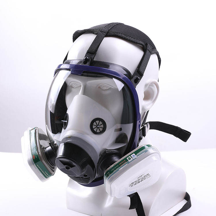 Dust protecting particulate respirator military gas mask full face mask respirator