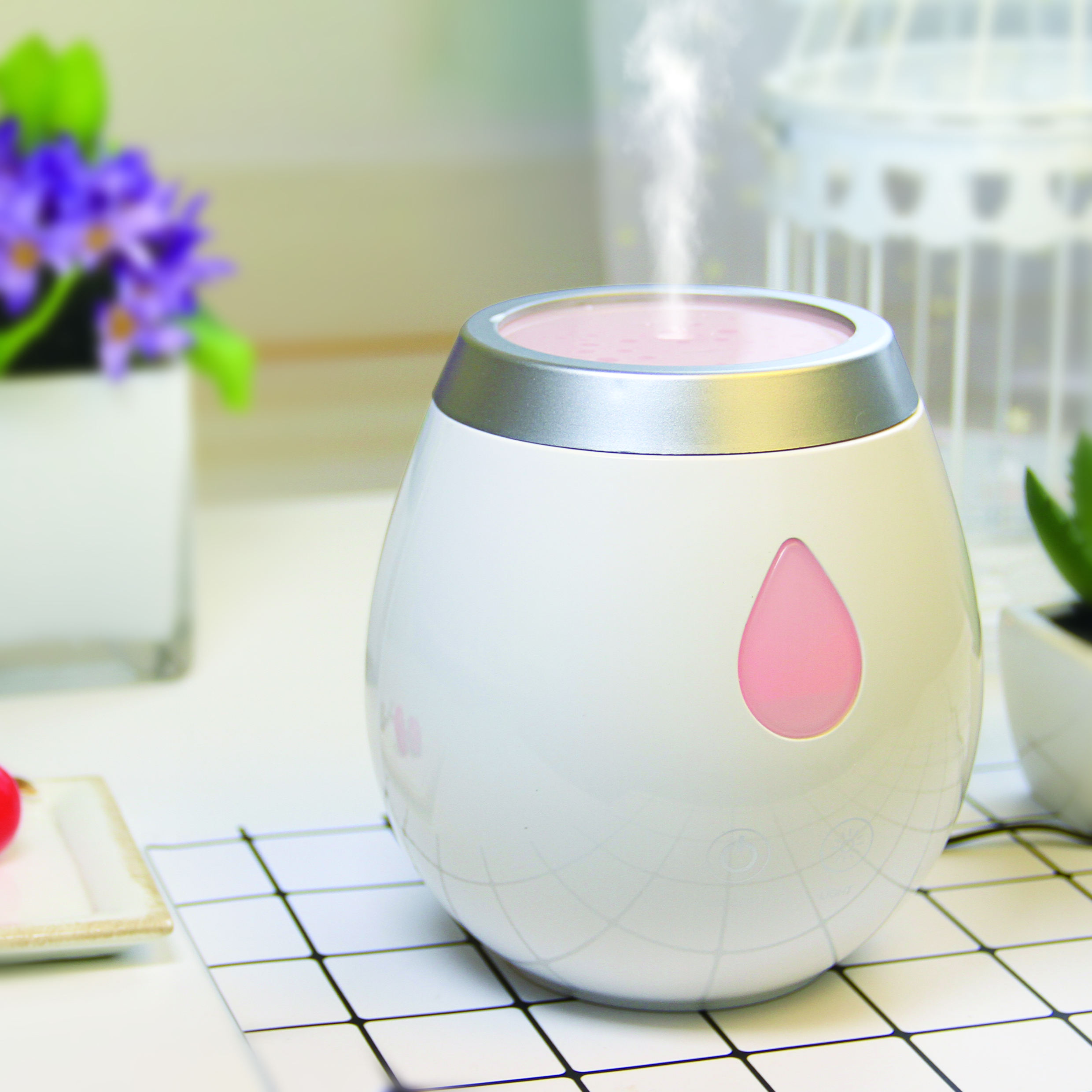 Spa USB Ultrasonic Humidifier Aroma Diffuser Machine