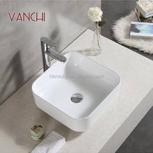 Bathroom Chaozhou all sanitary items modern new art basin without hole