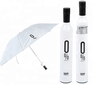 2019 Hot-Sale New Design Creative Customized Cheap Wine Bottle Umbrella Promotional