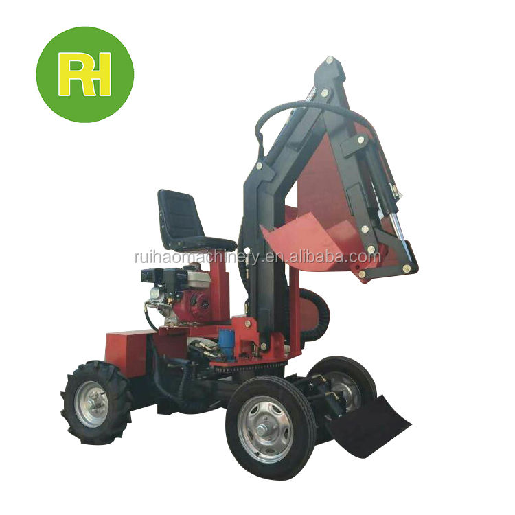 digging tools trenching machine for skip steer loader