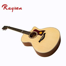 High Quality Guitars 41 Inch D Shape Spruce And Basswood Acoustic Guitar