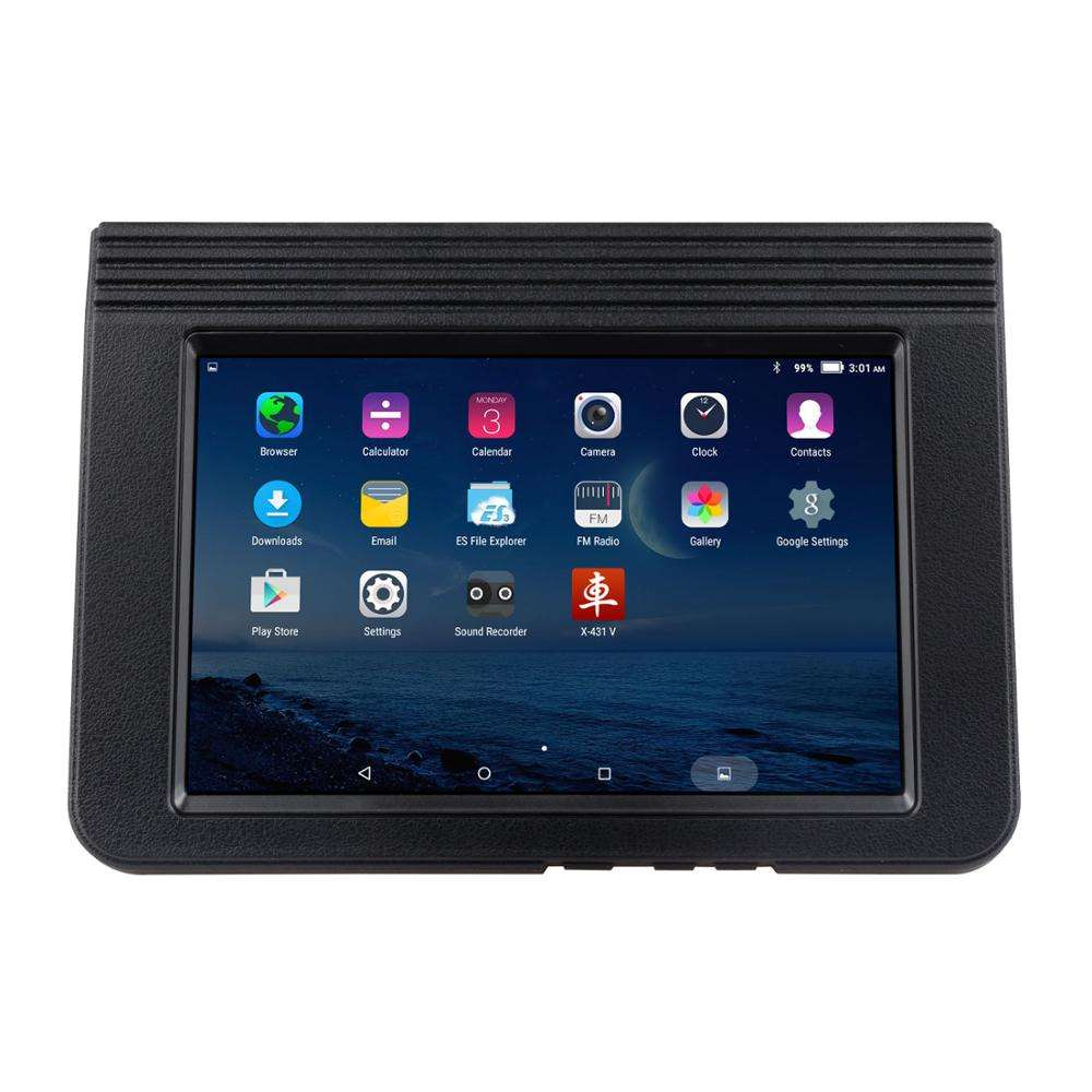"2020 Version Launch X431 V 8"" Car Diagnostic Tool Free Update Via Official Website X-431 V obd2 scanner Supports WiFi/Bluetooth"