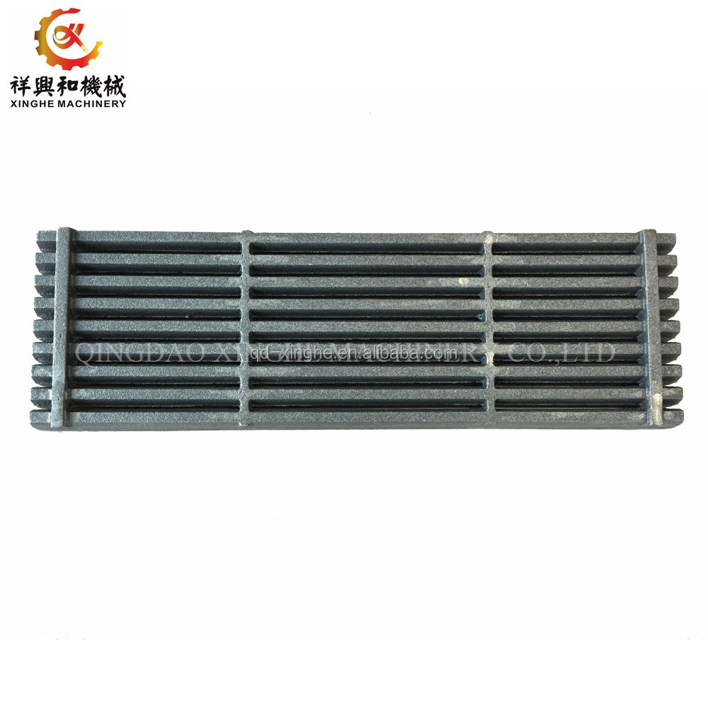 OEM HT250 grey iron shell casting cast iron grill