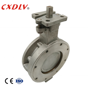 DN150 DN 50 DN250 DN200 10inch Soft Seat Pneumatic Actuated stainless steel Wafer Type Butterfly Valve