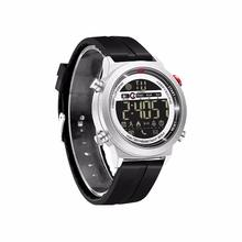 JeiSo 1705 Alloy Case PU Band Multi-function Smart Sport 30M Waterproof Watch for Android or Apple IOS System