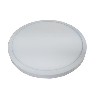 10mm slim led ceiling lighting panel round surface