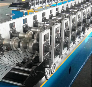 Perforated สายถาด Cold Roll Forming Machine