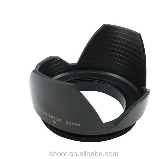 Flower Lens Hood 52MM for Nikon Canon AF-S DX 18-55mm 50mm f/1.8D
