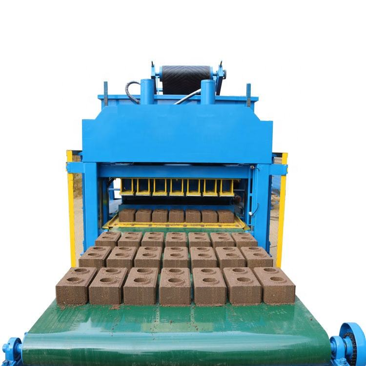 LY5-10 automatic clay interlocking brick pressing machine with large capacity direct factory