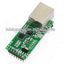 TCP232-T2 TTL serial port to Ethernet two-way serial server module single-chip network card