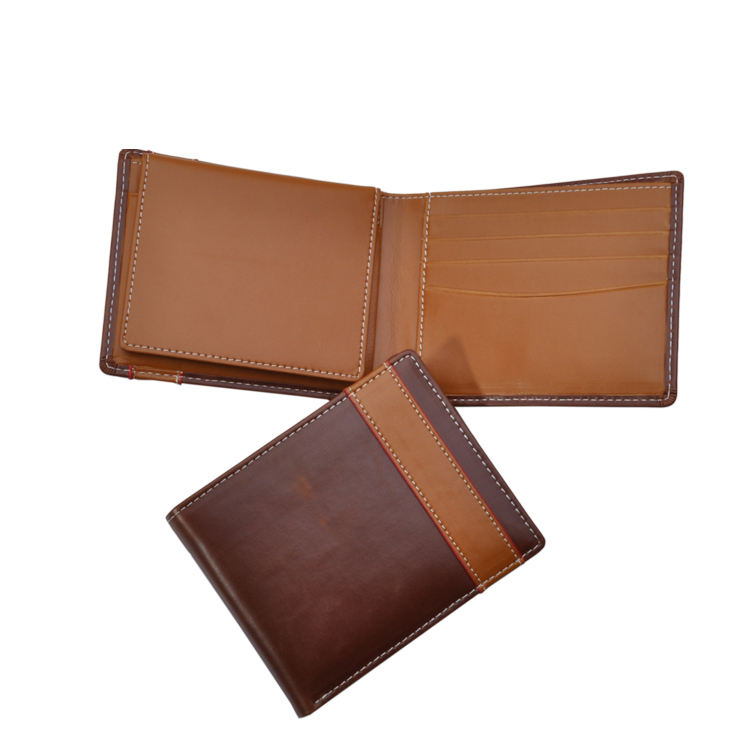 Men PU wallet with removable card holder
