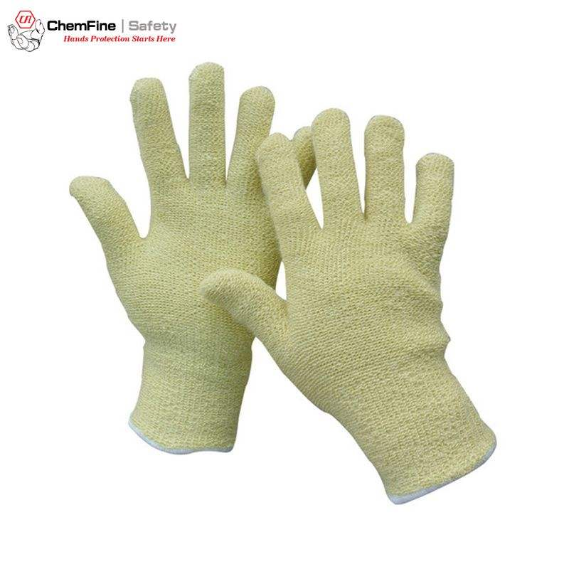 Heat Resistant Aramid Terry Gloves For Medium-heat Situations