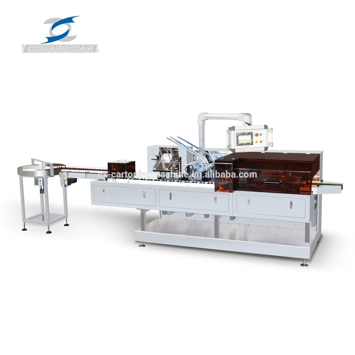 Automatic High Speed Cartoning Machine For Vials Sachet Bottle Tube