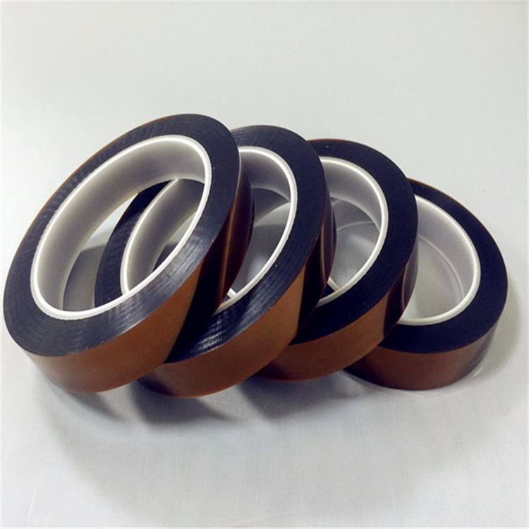 Insulation tape amber color for battery good quality low price anti static polyimide tape