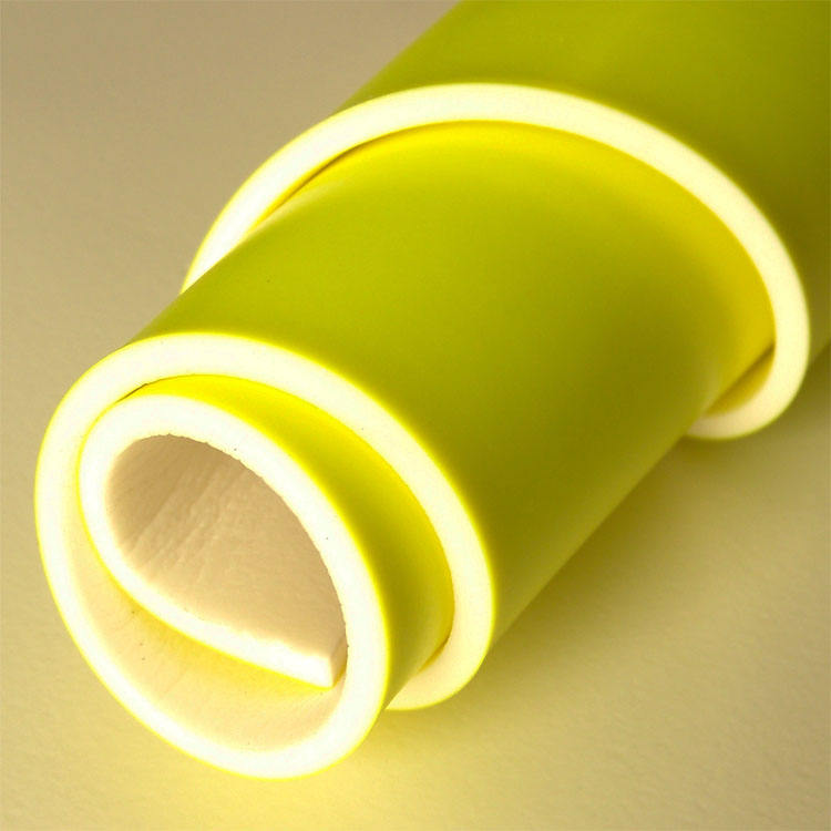 Fluorescent color 4mm thick high foam PVC material leather factory export surface smooth artificial leather rebound elasticity