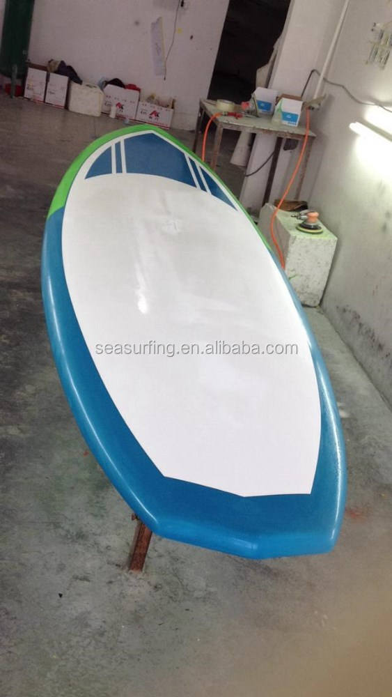 2016 NOVO DESIGN De Madeira Epóxi Prancha/EPS Sup Stand Up Paddle Board