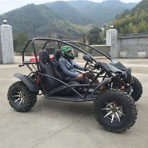China gas powered off road mini jeep kreuz gehen kart für verkauf strand dune buggy 4x4 auto