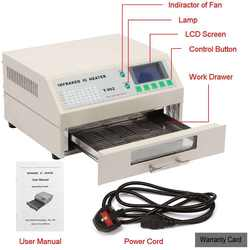 Updated New SMD BGA T962 Infrared IC Heater Reflow Oven Machine