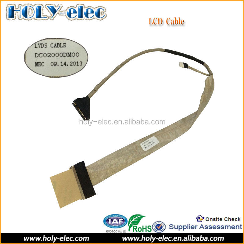 "Toshiba P200 P205 P205D X205 LCD CCFL Display Video 17/"" Screen Cable Ribbon"