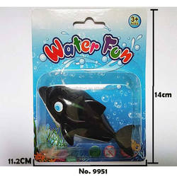2018 new wind up toys water fun dolphin toys