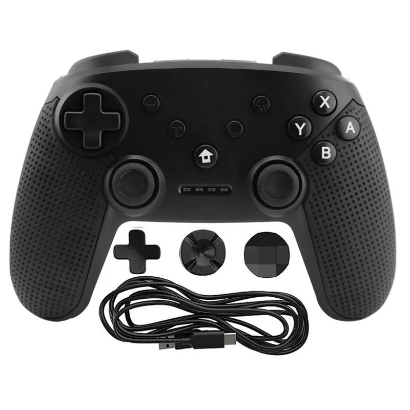 Black Wireless Gaming Gamepad Joystick voor Nintendo Switch/PS3/PC/Android Controller