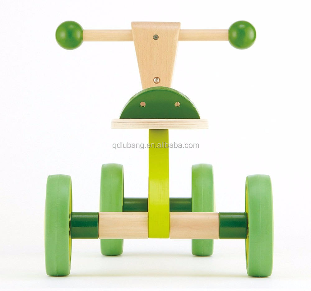 Kid Ride On Equilibrio Bici di Legno