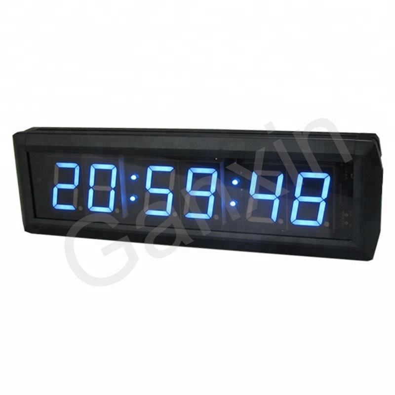 1.8 inch 7 segment led electronics green wall clock display integrated circuit