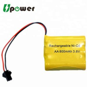 3.6V NICD Batterie NI-CD AA 800mAh 3.6V Batterie Rechargeable