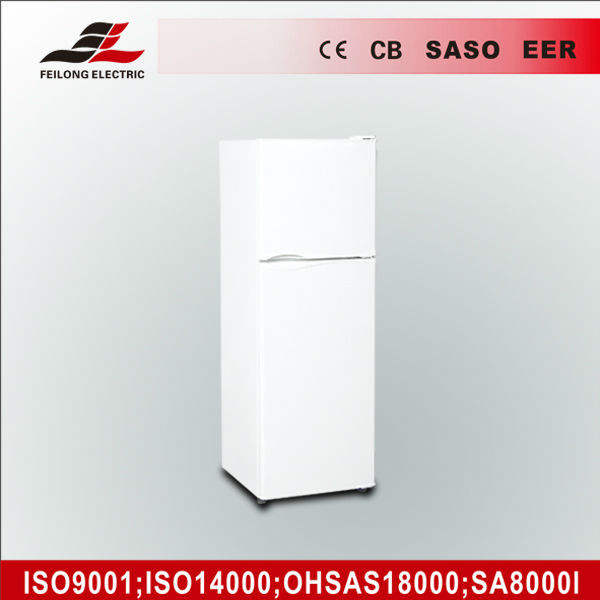 Manufacture double door refrigerator , freezer bcd-150