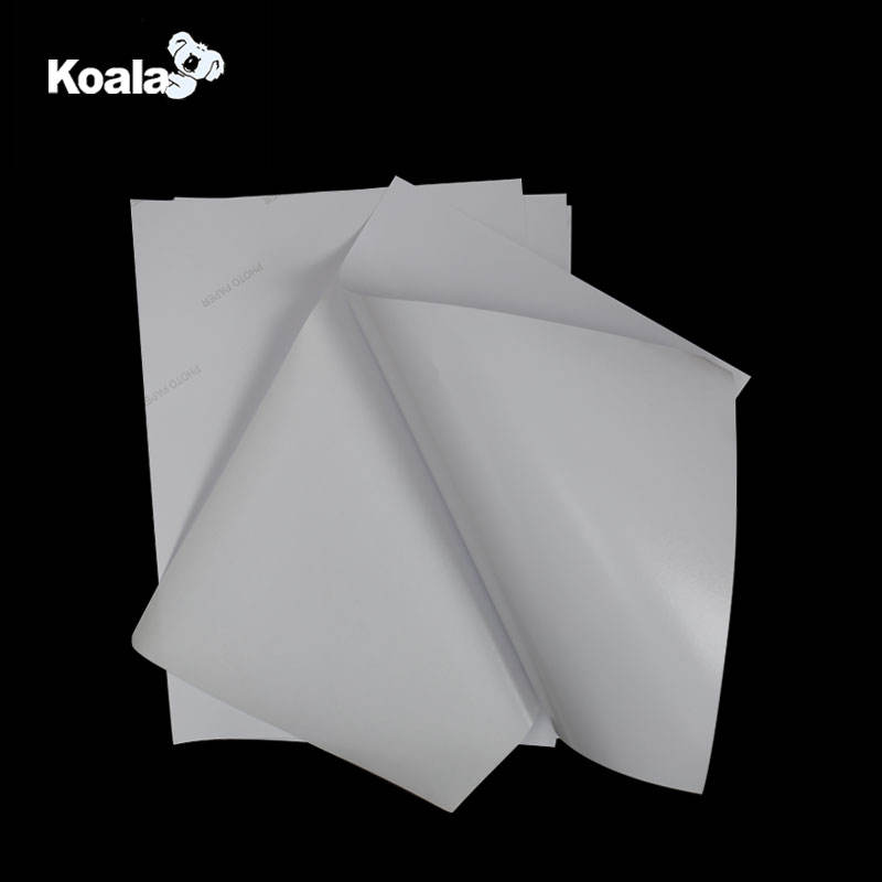 135gsm Self adhesive photo paper, Factory supply sheet size