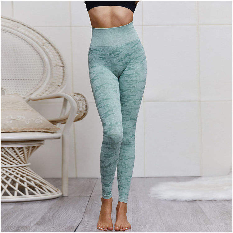 Low Moq Custom Logo Turquie Vetements Sport 88 Polyester 12 Spandex Camouflage Leggings