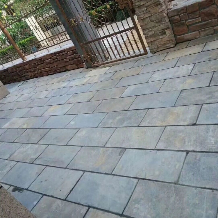 Natural paving stone bluestone pavers for driveway
