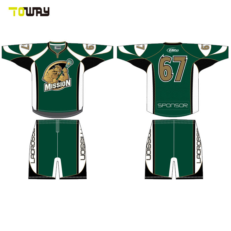 sublimated wholesale custom box lacrosse jersey