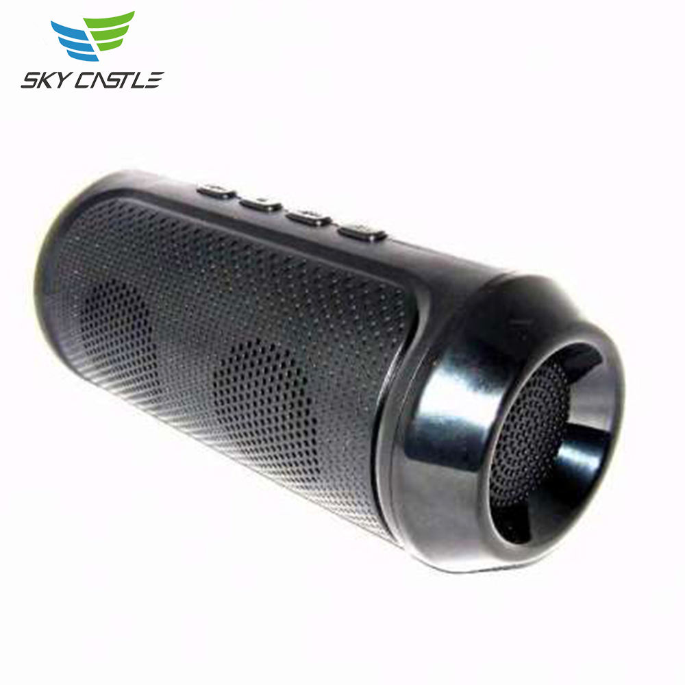 Best Selling ABS + Metal 1200 mAh Auto Stereo Draadloze Power Bank Bluetooth Speaker