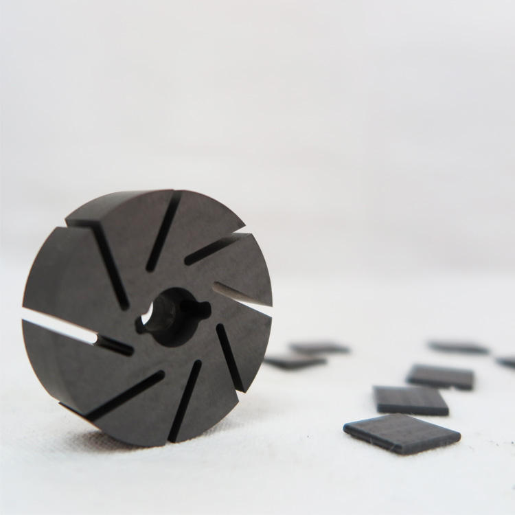 Special Isostatic Graphite for Vacuum Pump Rotor