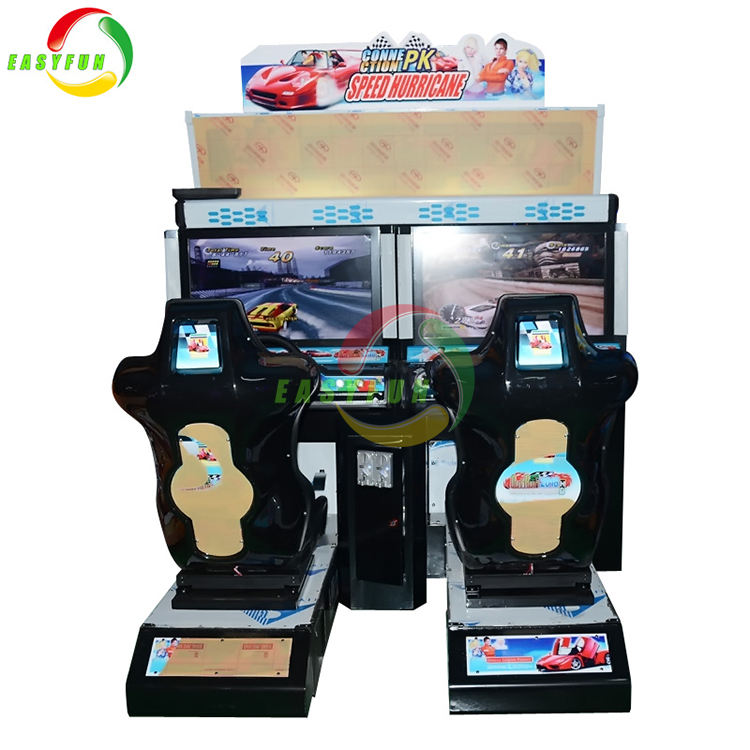 2018 Easyfun hot sale GPX Cyber Formula coin operated speed hurricane racing game simulators
